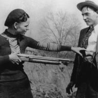 Bonnie et Clyde, le couple mythique