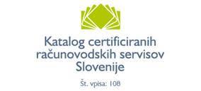 Katalog certificiranih računovodskih servisov Slovenije