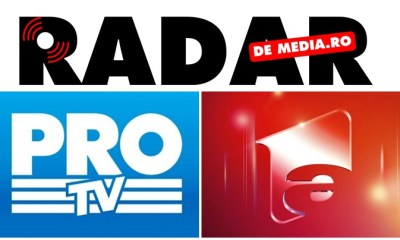 AUDIENTE TV RADAR DE MEDIA, PRO TV - ANTENA 1