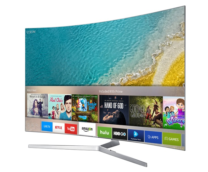 Samsung Smart TV_Smart Hub_Side
