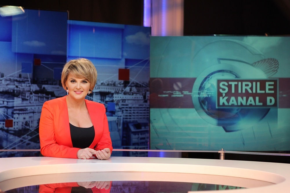 Silvia Ionita STIRILE KANAL D