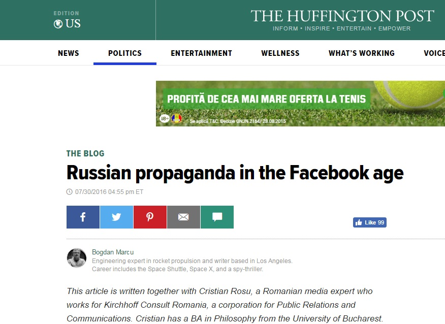 The Huffington Post articol