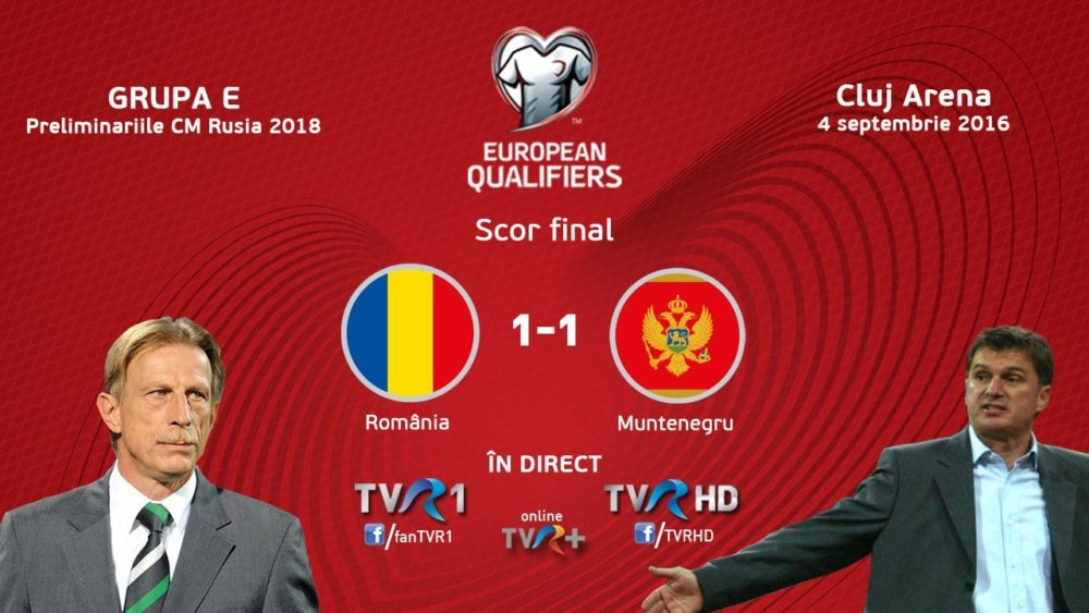 Romania-Muntenegru_scor 1-1
