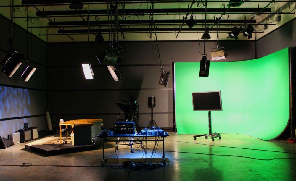 televiziune studio de stiri
