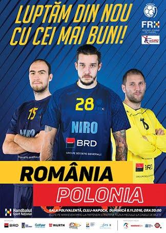 handbal-romania-polonia-cluj