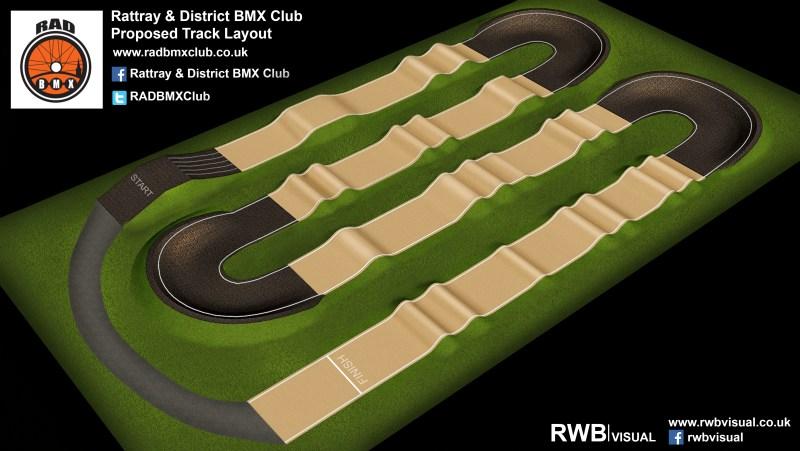3D Track Design of Rattray BMX Track