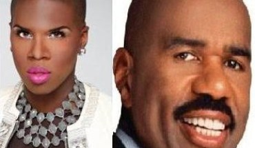 lawrencesteve1 Steve Harvey picks Miss Lawrence from RHOA to Join the Steve Harvey Project