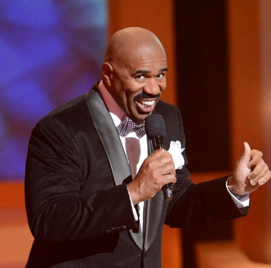 2012 03 28 SteveHarveyHost3 thumb Great Story on Steve Harvey...