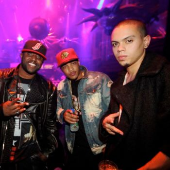 Rico Love T.I. and Evan Ross