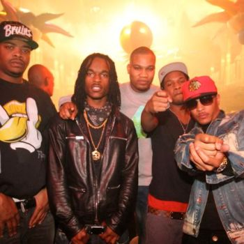 T.I. DJ Milk and friends