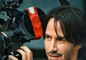 Keanu Reeves on Side By Side Set 300x210 SIDE BY SIDE: THE SCIENCE, ART, AND IMPACT OF DIGITAL CINEMA, Produced And Hosted By Keanu Reeves,
