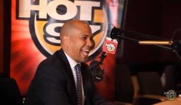 CoreBookeronHOT97 Angie Martinez Talks to the Next Black President: Mayor Cory Booker