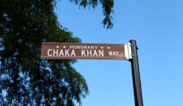 chaka khan street The City of Chicago Honors Ten Time GRAMMY Award Winner Chaka Khan with Street Naming