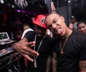 jermaine dupri bow wow 300x250 Bow Wow & Jermaine Dupri Celebrate at 4 Year Anniversary of Playhouse Nightclub