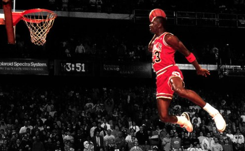The 100 Most Iconic On Court Photos of Michael Jordan Are Sports Overrated?