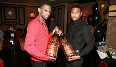 Fabolous Trey Songz 1 Trey Songz, Fabolous & More Celebrate B Days With Moët (PICS)