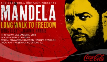 mandela webmast hstn Coca Cola Hosts Free Screening of MANDELA