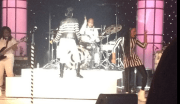 Screen Shot 2014 01 09 at 9.44.15 PM CES Report: Is that Janelle Monae on Stage?  PIC