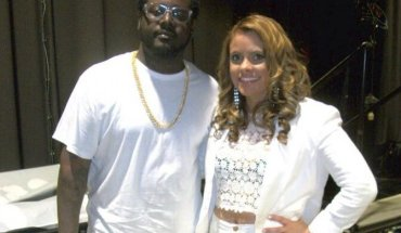T Pain amp e1399942858197 T Pain Rocks the WJMZ 2014 White Party ( PICS)