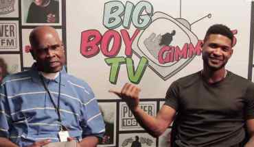 GHAaxCzJFoWK Big Boy interviews Usher about Good Kisser and more (vid)