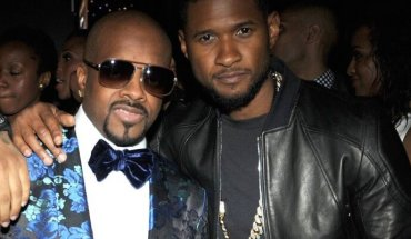 usher and jermaine dupri ascap 2014 the jasmine brand e1404137745214 Usher Congratulates Jermaine Dupri on His ASCAP Founders Award
