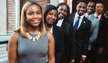 The Apple HBCU Scholars Program is just one element of the $40 million partnership between Apple and Thurgood Marshall College Fund announced earlier this year. (Photo Courtesy of the Thurgood Marshall College Fund) (PRNewsFoto/Thurgood Marshall College Fund)
