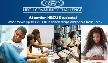 2015 Ford HBCU Community Challenge returns to support students of Historically Black Colleges and Universities. Proposals can be submitted until November 1 at blackamericaweb.com/hbcuchallenge. (PRNewsFoto/Ford Motor Company)