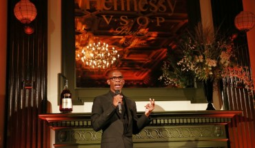 Investor, entrepreneur and manager Troy Carter accepts the 12th annual Hennessy V.S.O.P Privilege Award on October 8, 2015 at WeWork Bryant Park in New York City.  Hennessy recognized Mr. Carter for his efforts in redefining entrepreneurship before announcing the Hennessy V.S.O.P Privilege Lab, a partnership with WeWork that will provide an emerging business with a year's worth of mentorship, community and free office space. (Photo by Amy Sussman/Invision for Hennessy/AP Images) (PRNewsFoto/Hennessy)