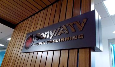 Sony ATV Wall Sign B