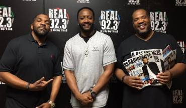 Fuzzy West, AMD/Talent Coordinator Real 92.3, Doc Wynter, SVP National Urban Radio/Real 92.3 PD, Kevin Ross, CEO/Radio Facts