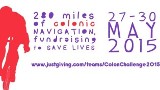 St Mark's Hospital Foundation's Colon Challenge takes place between the 27th to 30th May