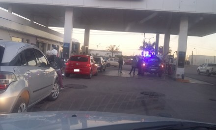 Accidente en la YPF