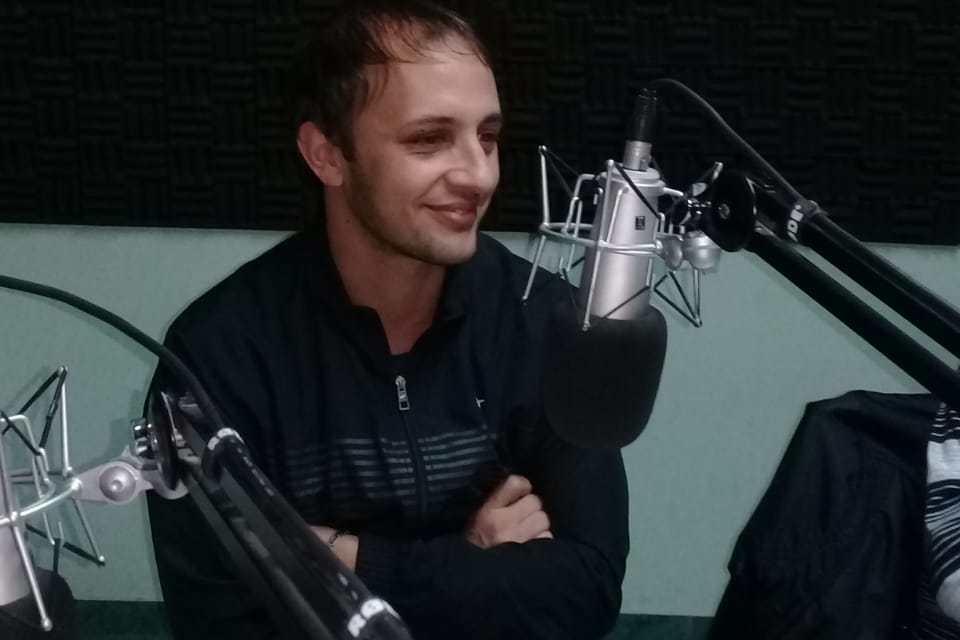 """Luciano Martoglia: """"me siento bien y mientras Sportivo me siga abriendo las puertas para jugar voy a estar"""""""