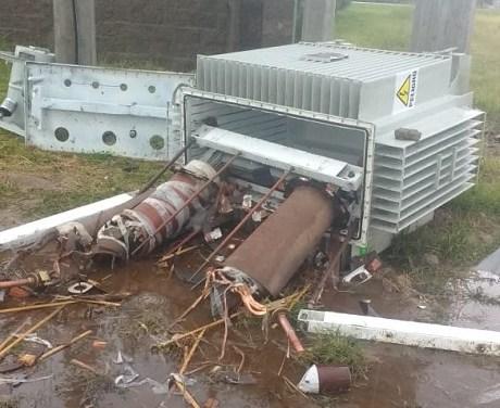 Intentaron robar un transformador en el Parque Industrial de Cañada de Gómez