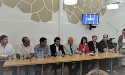 Todos los candidatos del Departamento, del Frente Progresista, se reunieron en Las Parejas