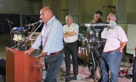 """Hugo Ardusso, en la Fiesta de los 97 años de Sportivo: """"Sobrellevamos los duros momentos por el grupo humano que se formó"""""""