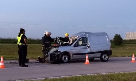Accidente en la autopista