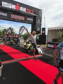 Diego Ciani ganó el Ironman Punta del Este
