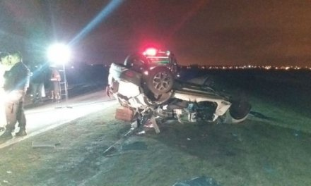 Cinco muertos al chocar un auto contra un semirremolque