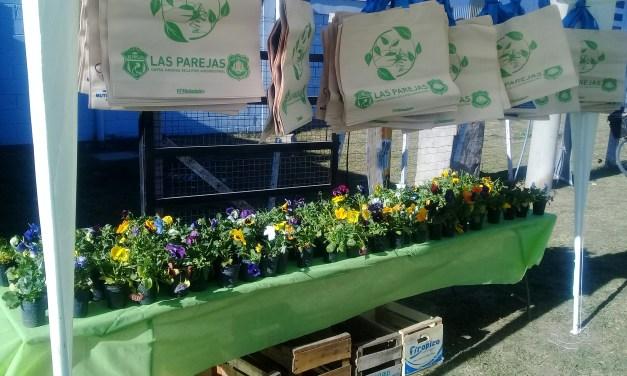 Eco Canje, un plantín por residuos reciclables