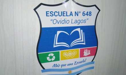 La Escuela Ovidio Lagos ya tiene su propio logo