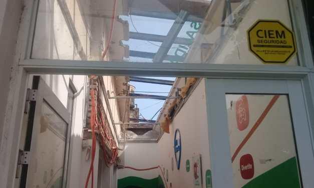Reconstruyen el techo del CeCLa y Punto Digital