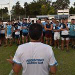 En fútbol, Argentino comenzó la pretemporada
