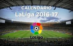 calendario de LaLiga 16-17