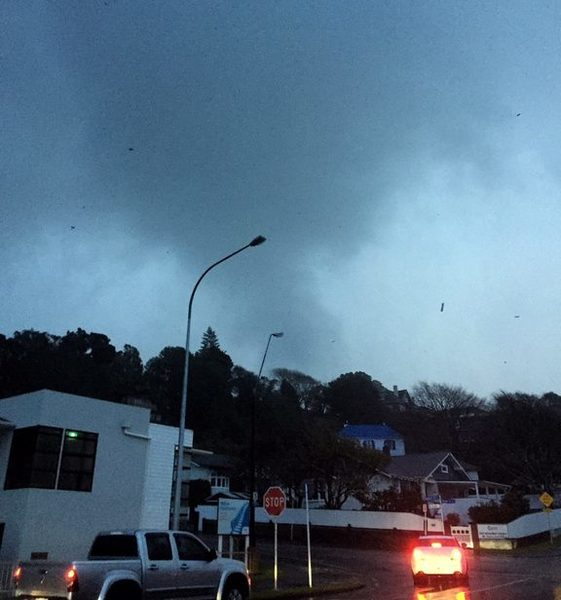 Tornado aftermath: More storms forecast for New Plymouth | RNZ News
