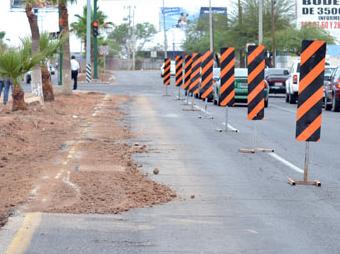 Estos trabajos no afectarán la prestación del servicio ni de agua ni de drenaje, pero sí la circulación vial