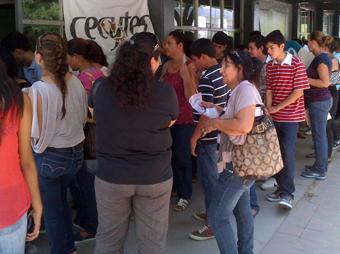 Alumnos de nuevo ingreso en Cecytes deben apresurar inscripción para no perder su lugar