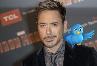 Robert Downey Jr se estrena en Twitter