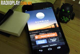 Revisamos 'Sunrise', el nuevo calendario para Android