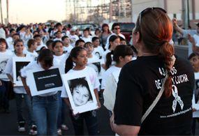 Minuto a minuto la marcha en Hermosillo, a 5 Años de Luto y Lucha